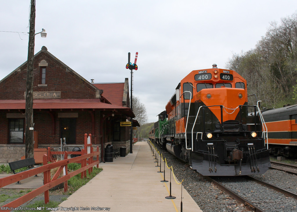 Arrival at the Depot
