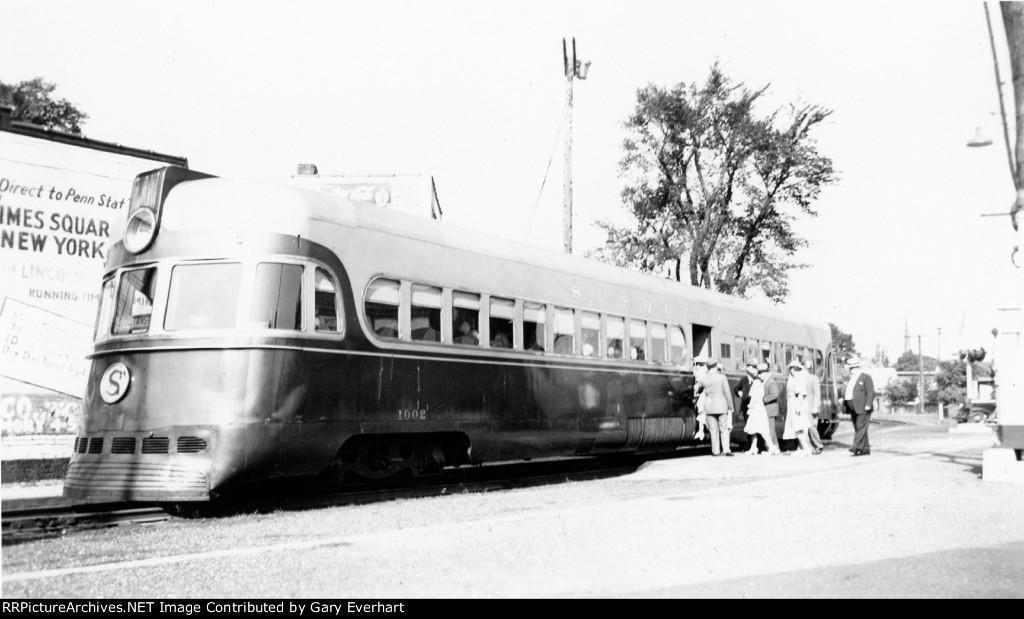 "NYSW ""MotoRailer"" #1002 - New York, Susquehanna & Western"