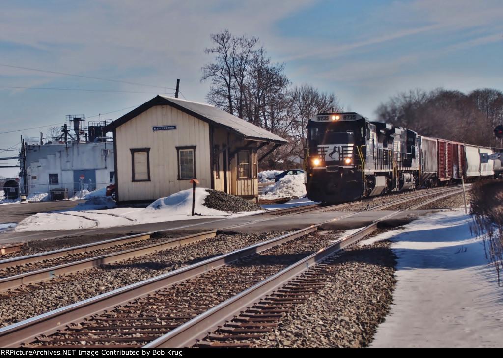 5th train:  Westbound manifest