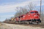 CP 9655 On CSX Q 507 Southbound