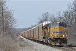 UP 3991 On CSX Q 243 Southbound