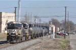 NS 9825 On NS 175 Eastbound Elephant Style