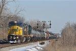 CSXT 7367 On CSX Q 500 Northbound