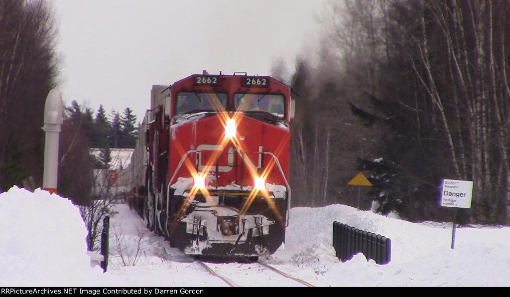 CN Train 121