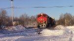 CN 8013 Leads Train 120