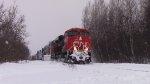 CN 2342 Leads Train 473