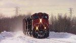 CN 2246 Leads Train 120
