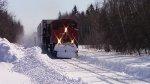 CN 8876 Leads Train 121