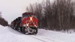 CN 2662 Leads Train 121