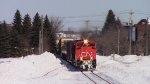 CN 8006 Leads Train 407
