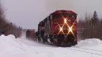 CN 5544 Leads Train 120