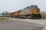 CREX 1430 Leads one hell of a lash up on the BNSF.