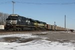 NS 7552 Leads a coal drag down main 2 on the Decatur District.
