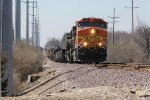 BNSF 5689 Leads the TULSTL down the old Jointed rail.