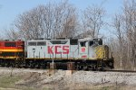 KCS 2919 Leads a transfer back toward the KCS yard.