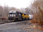 NS 8132 and SD70AH UP 8864