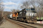 CSX K634 in West Nyack, NY 1/2/2015