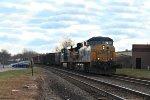 CSX Q434 in West Nyack - 1/2/2015