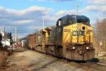 CSX Q417 South thru CP26 - 1/2/2015