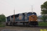 CSX 4768 pulls out of Barr Yard