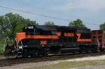 IHB 3861 leads train west