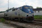 Amtrak northbound on UP
