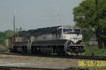 Loaded BNSF coal heads east on CSX
