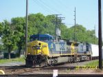 CSX Southbound on UP