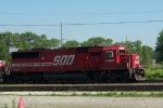 SOO 6052 leads CSX train out of Barr yard