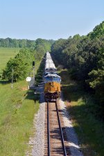 south bound well thats what CSX calls it