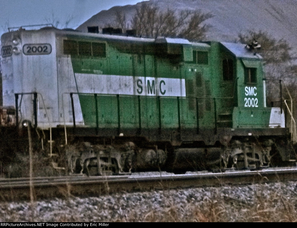 SMC 2002 GP9 at Stringtown, Oklahoma. Late evening shot, sorry for the poor quality.