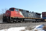 CN 2663 is the DPU motor on the SB intermodal