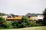 CNW 8632 on Norfolk Southern with Memphis-Harrisburg intermodal