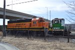 BNSF 2677  parked at argentine yard
