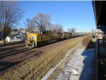 Rochelle RR Park on a sunny winter day