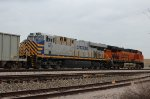 CREX 1418 and BNSF 6335