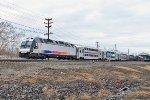 NJT 4508 on train 5514