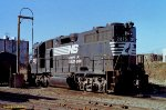 NS 2875 (GP38AC) at Des Moines IA. 11/27/1989