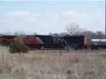 CN SD70M-2 8828
