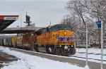 UP 3629, CP's   Tomah  Sub.