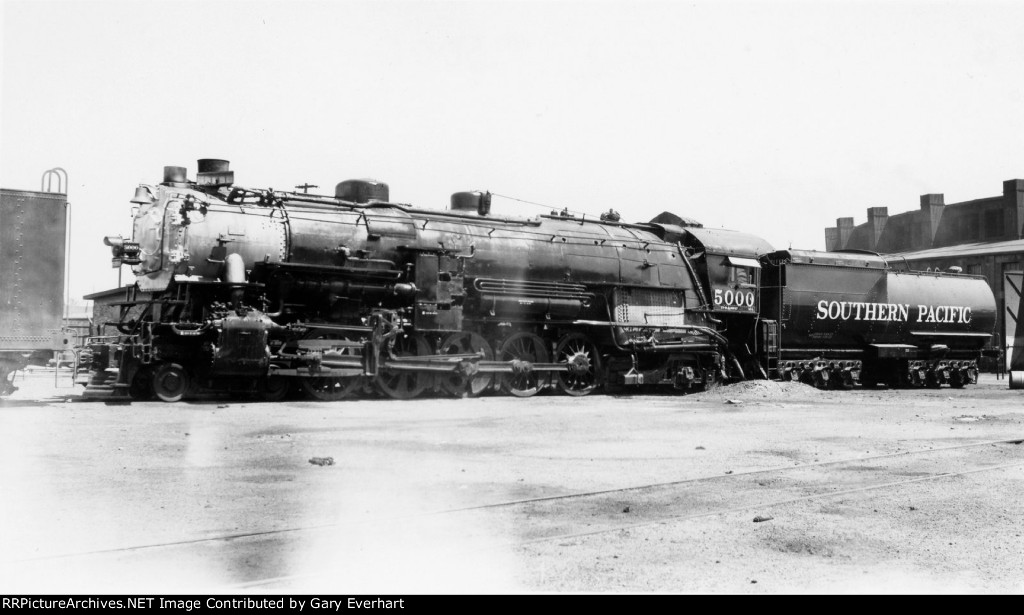 SP 4-10-2 #5000 - Souther Pacific