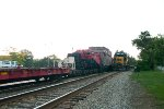 CSX 2732 switching a transformer delivery in Wyckoff NJ
