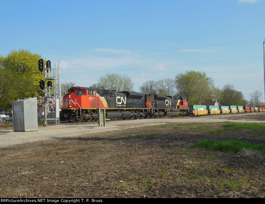 CN 8801 and CN 8921