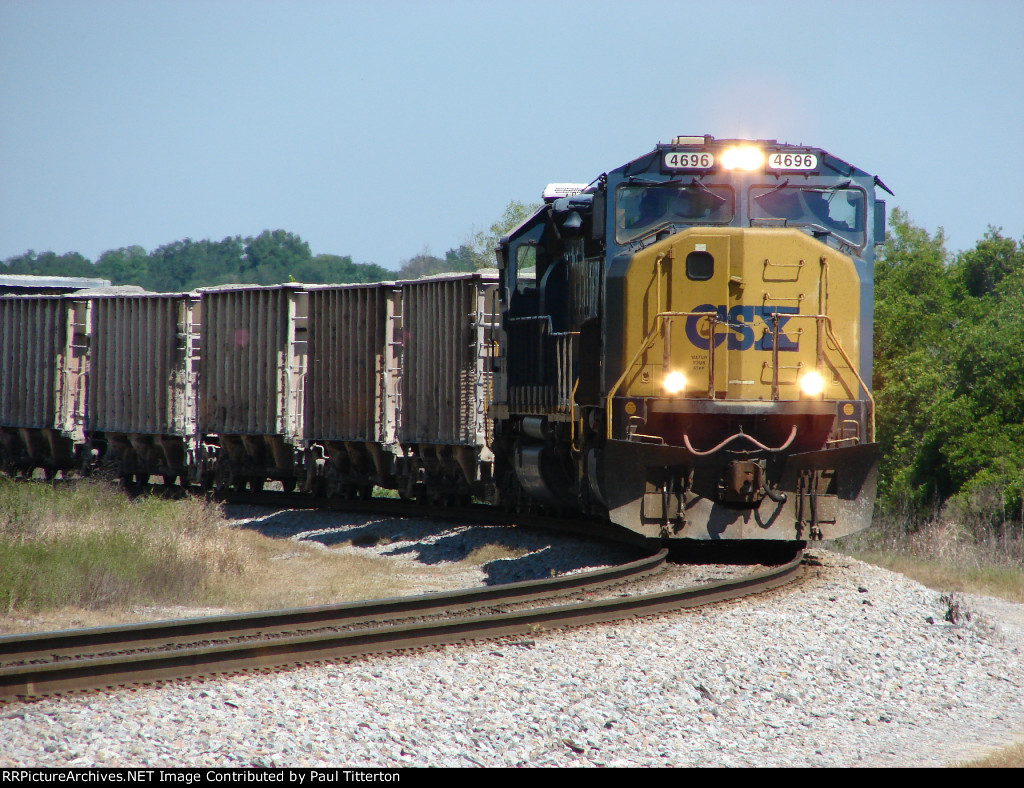 CSXT Phosphate Rock Train