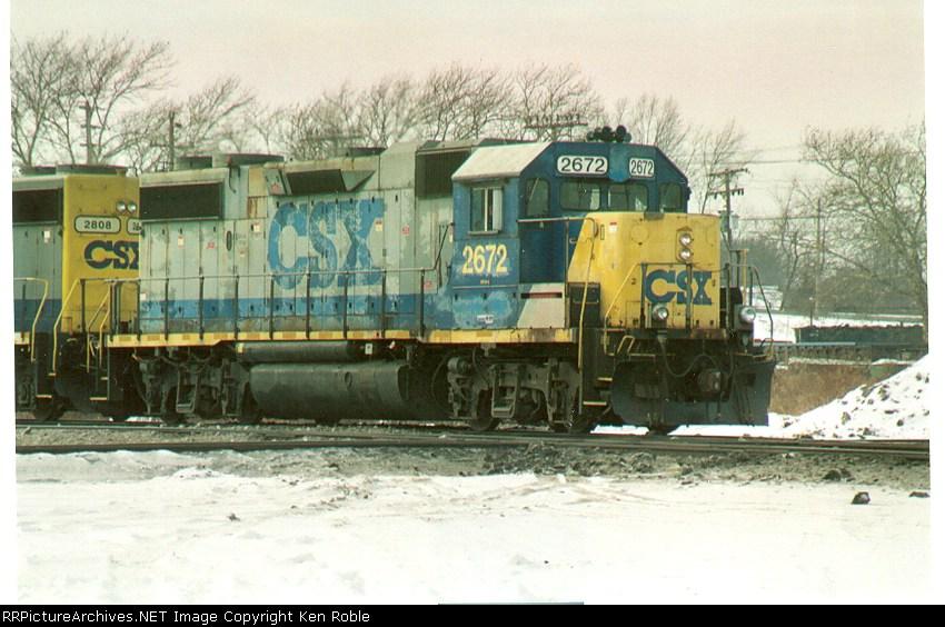 CSX 2672 9ex-L&N 6021)