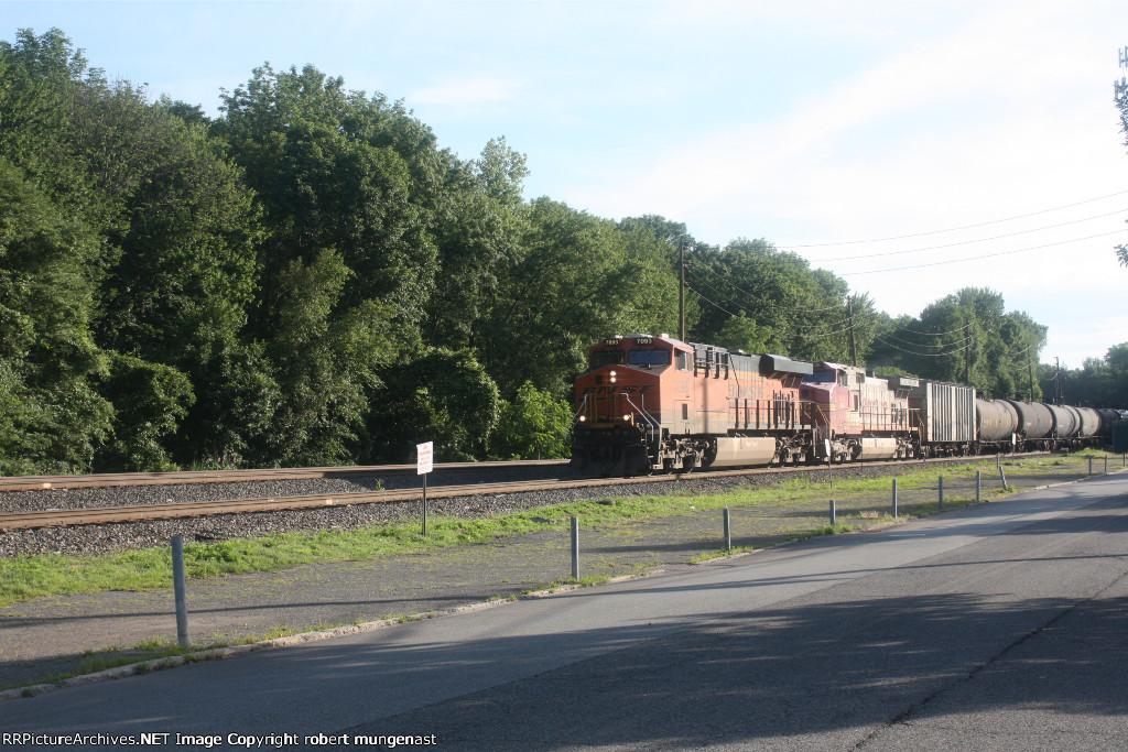 k 688 oil train 7;20 am