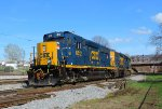 CSX 6512 and 2511