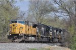 NS 7242 On NS 175 Eastbound