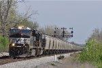NS 7659 On NS 48 Q Northbound