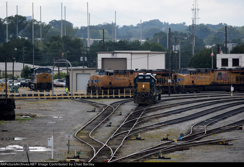 CSX and UP